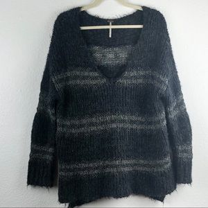 Free People Fuzzy Linus Sweater Large